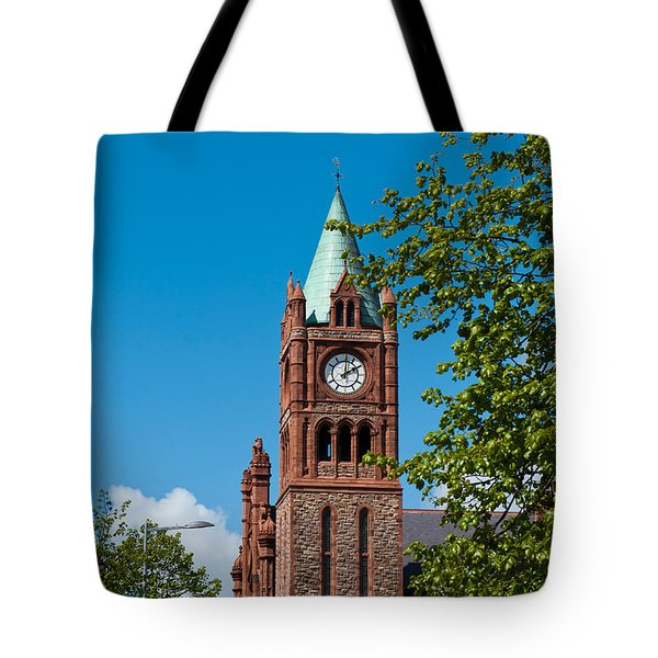 The Guildhall Tote Bag by Luis Alvarenga