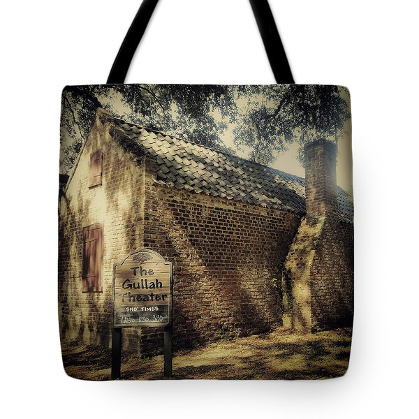 The Gullah Theater At Boone Hall Tote Bag