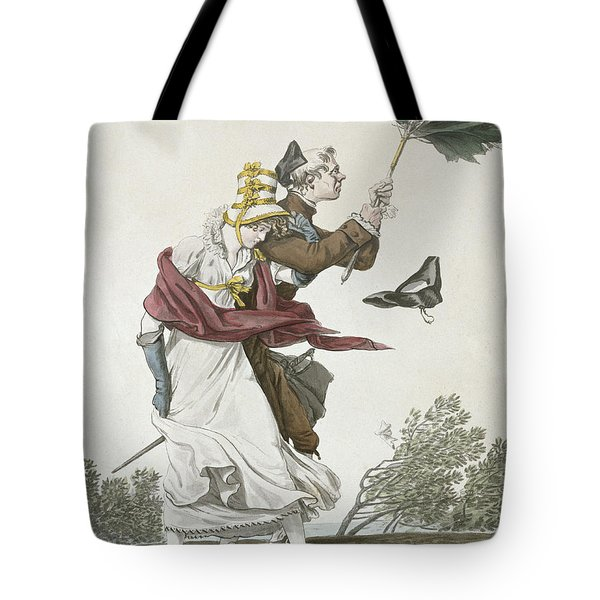 The Gust Of Wind Tote Bag