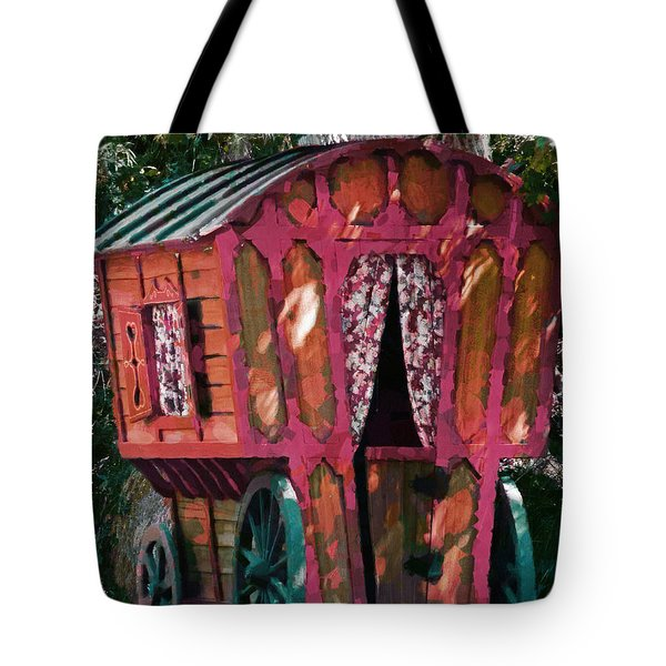 The Gypsy Caravan  Tote Bag