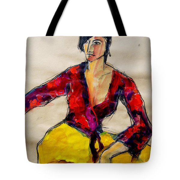 The Gypsy - Pia #2 - Figure Series Tote Bag