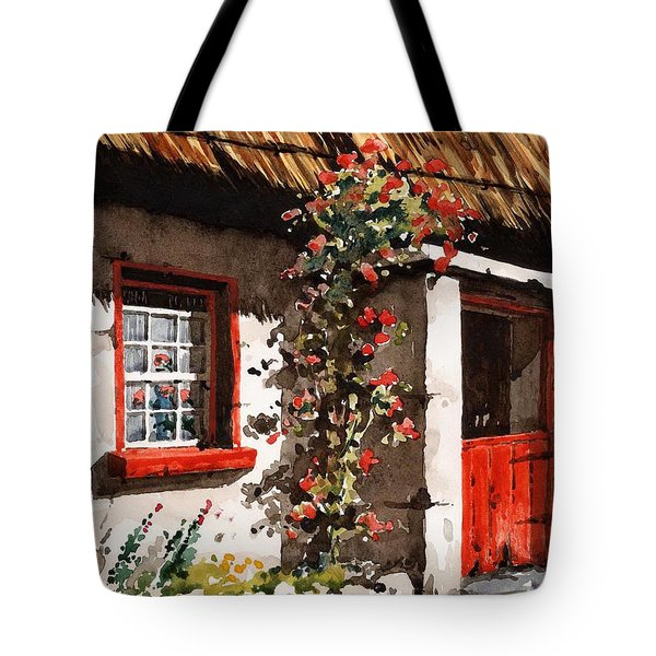 The Half Door Tote Bag