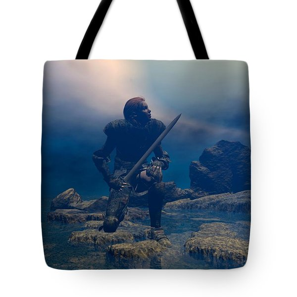 The Hand Of God On Your Head Tote Bag