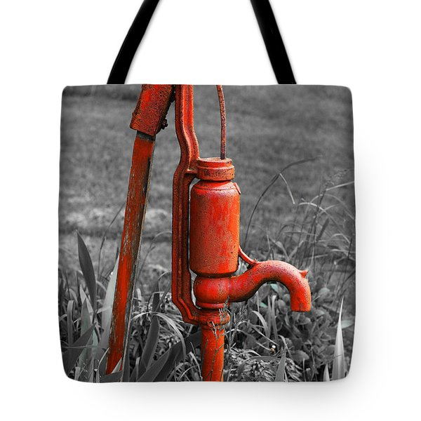 The Hand Pump Tote Bag