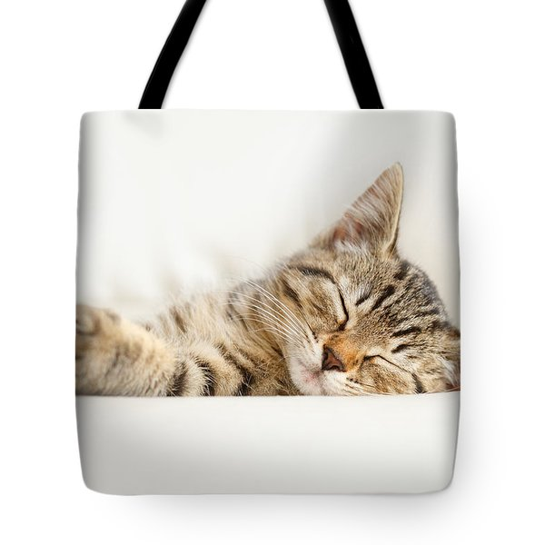 The Happy Kitten Tote Bag
