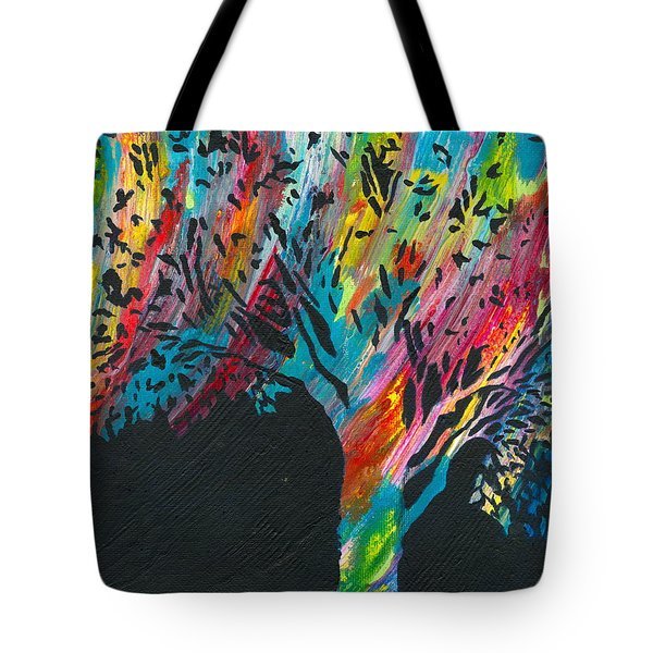 The Happy Tree Tote Bag