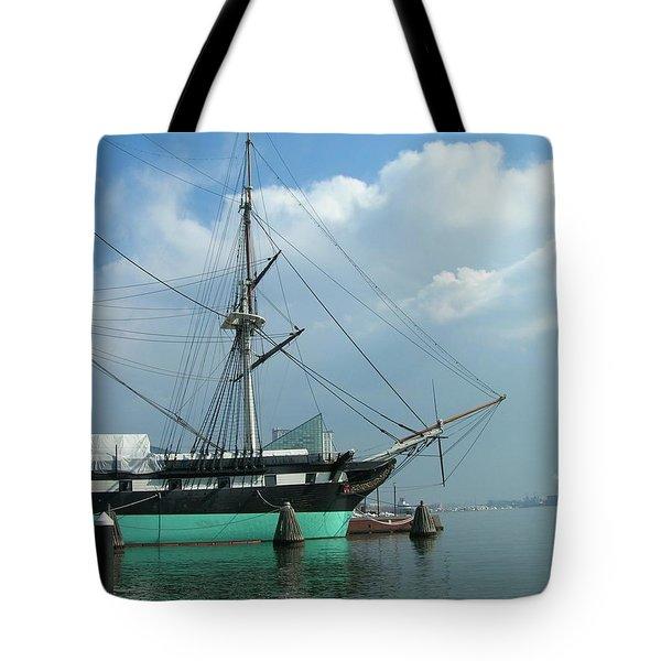 The Harbor Tote Bag by Arlene Carmel