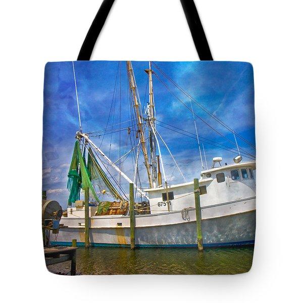 The Harbor II Tote Bag by Betsy Knapp