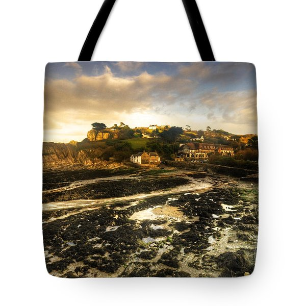 The Harbour At Lee  Tote Bag by Rob Hawkins