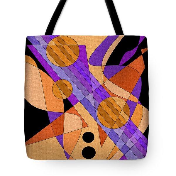 Electric Harp Tote Bag
