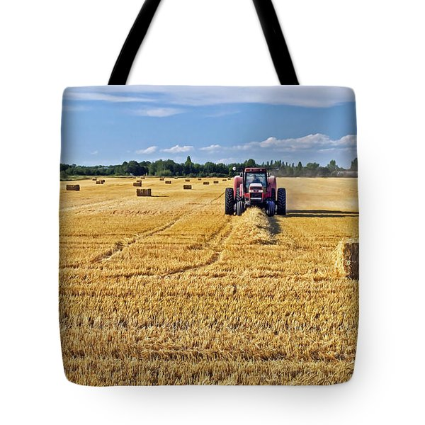 Tote Bag featuring the photograph The Harvest by Keith Armstrong
