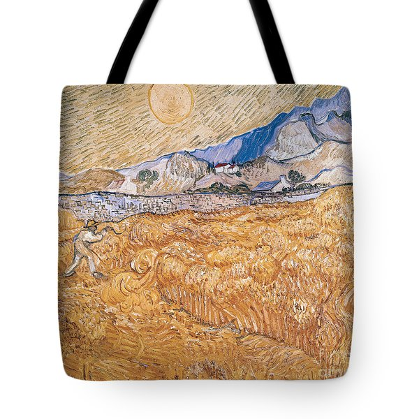 The Harvester Tote Bag by Vincent Van Gogh