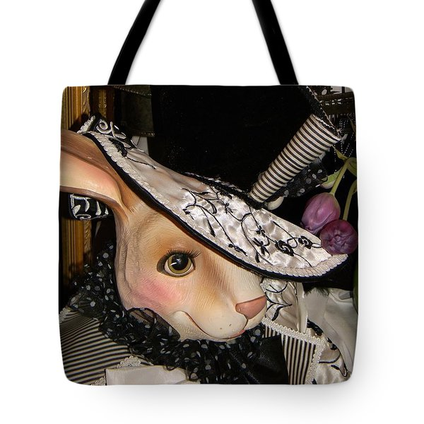 The Hat Tote Bag by Jean Goodwin Brooks