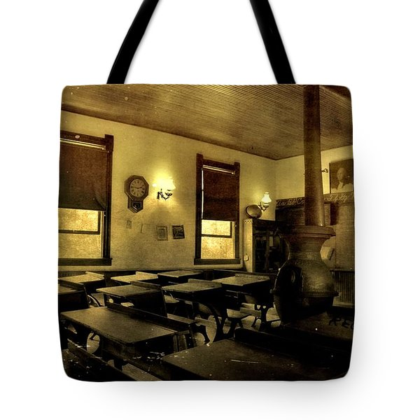 The Haunted Classroom Tote Bag by Dan Sproul