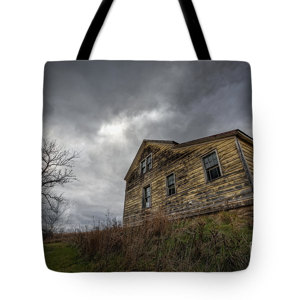 The Haunted Color Tote Bag by Michael Ver Sprill