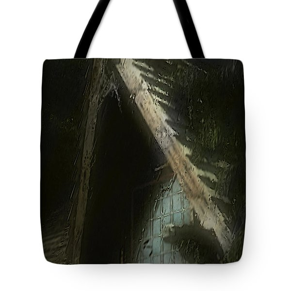The Haunted Gable Tote Bag by RC DeWinter
