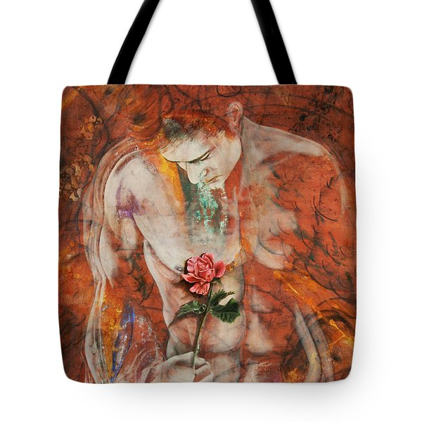 The Heart Finds Peace Through Love Tote Bag