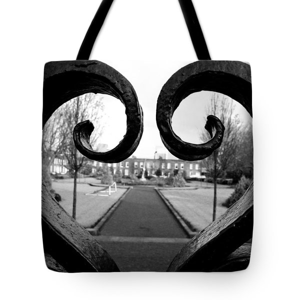 The Heart Of Dublin Tote Bag