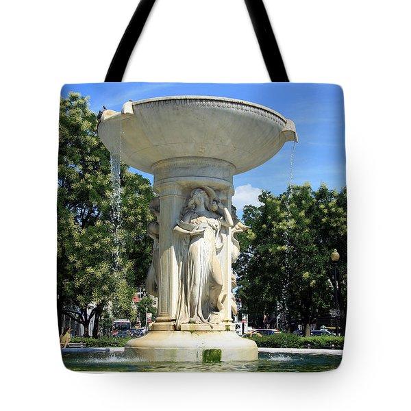 The Heart Of Dupont Circle Tote Bag