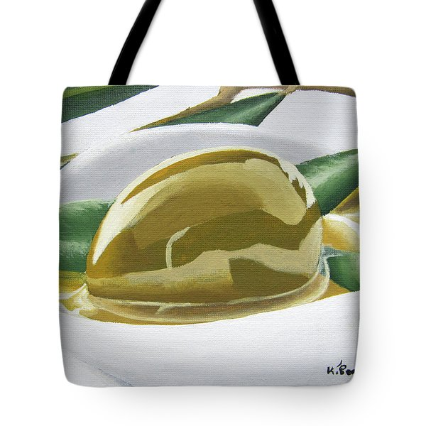 The Heart Of Greece Tote Bag by Kayleigh Semeniuk
