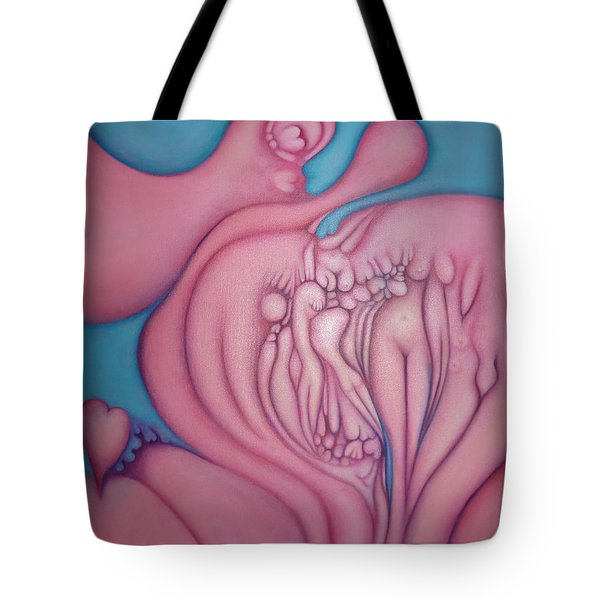 The Heart Of It All Tote Bag
