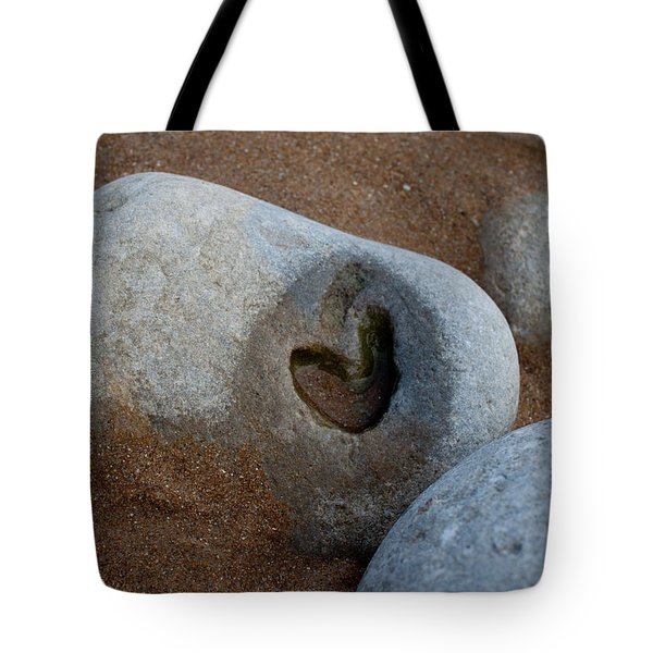 The Heart Of Omaha Beach Tote Bag