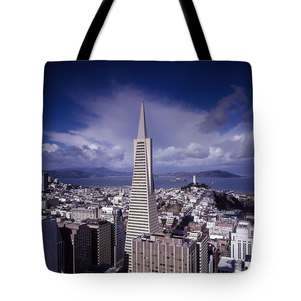 The Heart Of San Francisco Tote Bag
