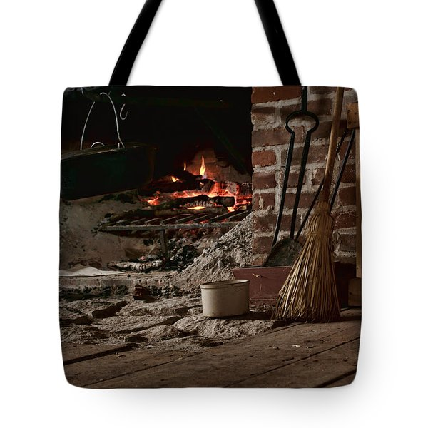 The Hearth - Fireplace Tote Bag