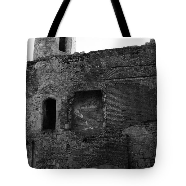 The Hearths Of Titchfield Abbey Tote Bag by Terri Waters