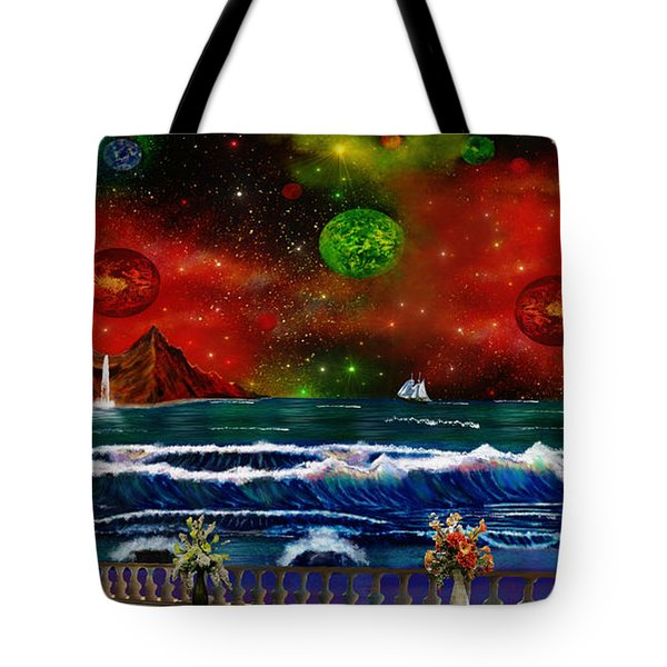 The Heavens Tote Bag