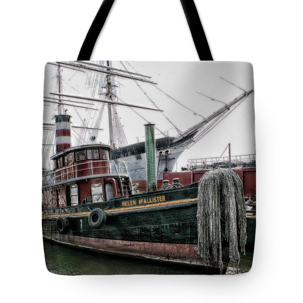 Tote Bag featuring the photograph The Helen Mcallister by Ben Shields