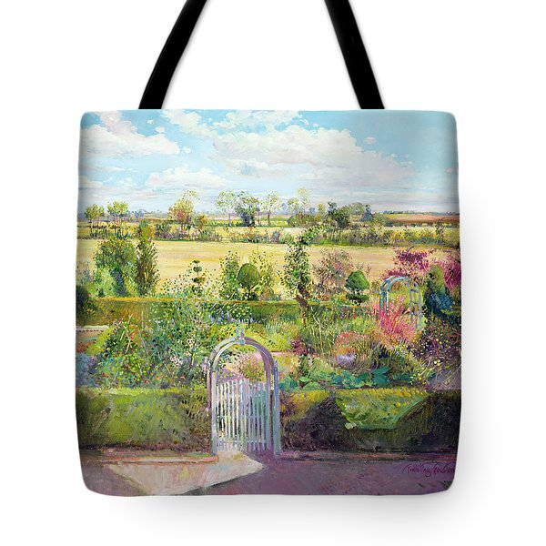 The Herb Garden After The Harvest Tote Bag