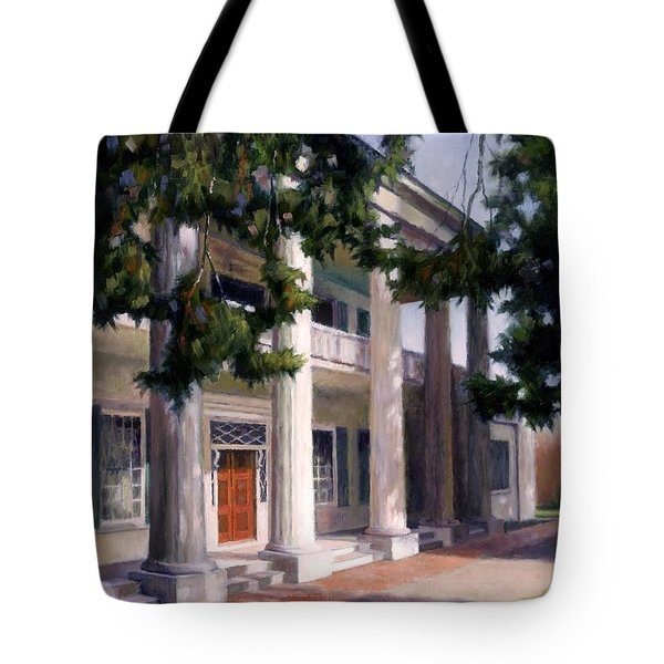 The Hermitage Tote Bag by Janet King