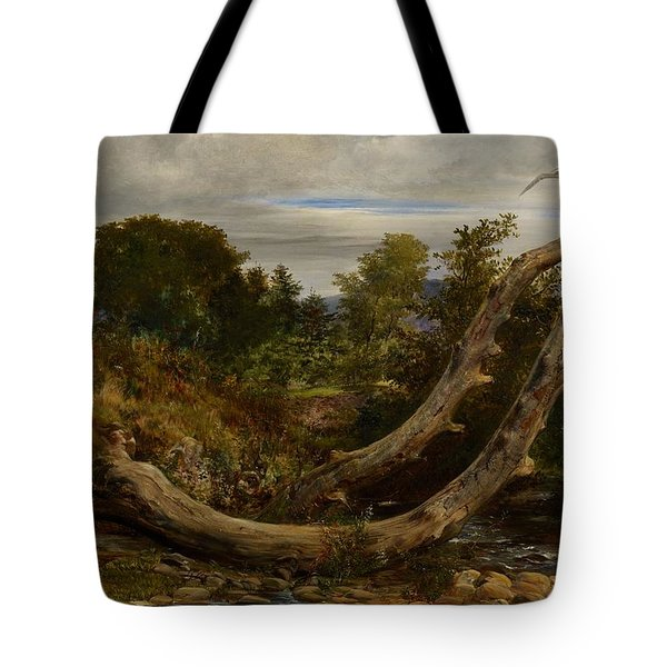The Heron Disturbed Tote Bag by Richard Redgrave