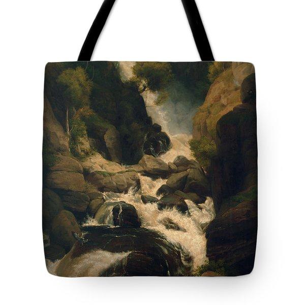 The Heron Shoot, C.1800 Tote Bag by English School