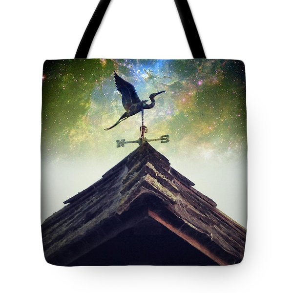 The Heron Vane Tote Bag
