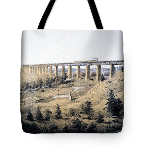 The High Bridge Near Farmville, Prince Tote Bag