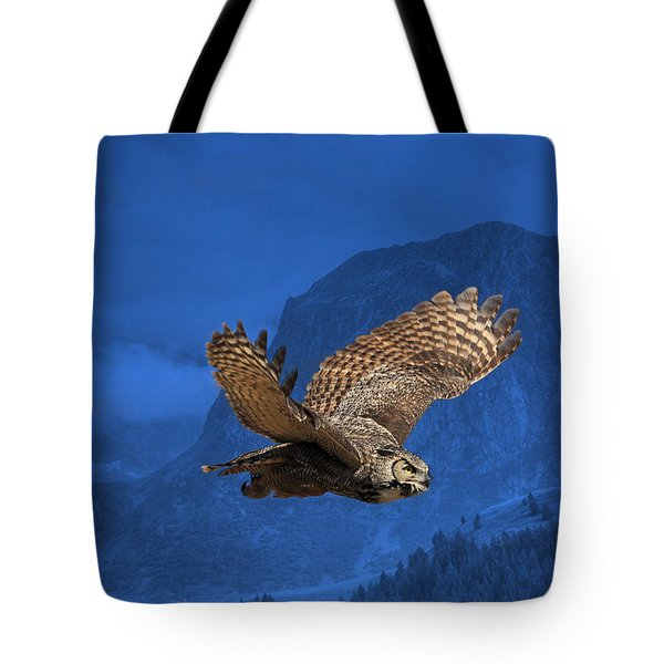 The High Country Tote Bag by Donna Kennedy