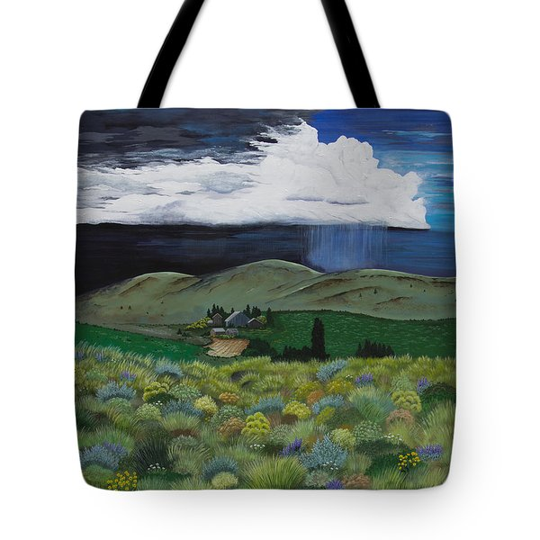 The High Desert Storm Tote Bag