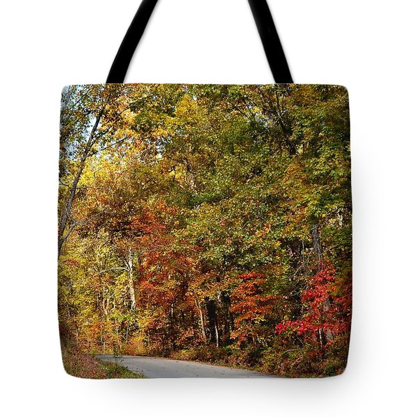 The High Road Tote Bag by Deena Stoddard