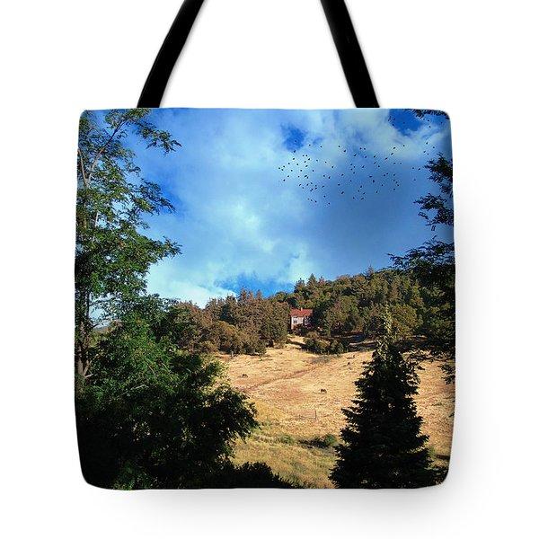 The Hillsides Of Julian Tote Bag