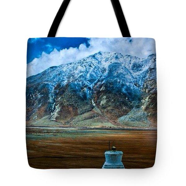 The Himalayas Tote Bag