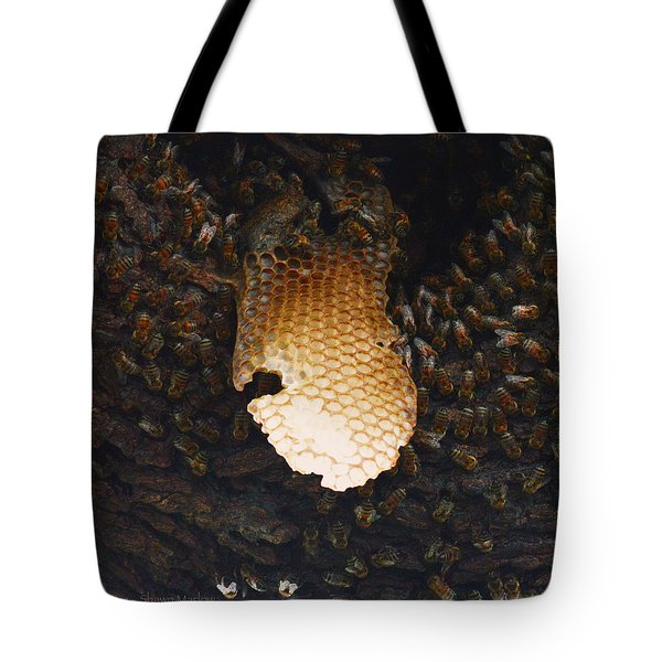The Hive  Tote Bag by Shawn Marlow