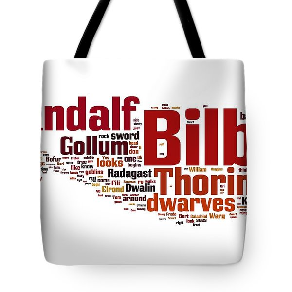 The Hobbit Tote Bag by Florian Rodarte