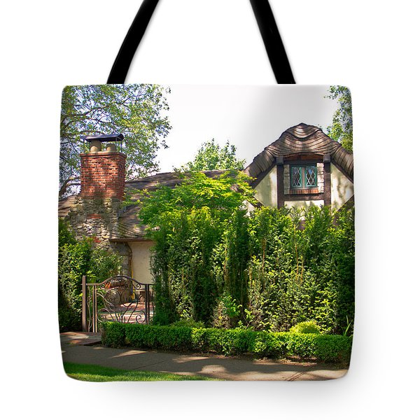 The Hobbit Neighbor  Tote Bag by Eti Reid