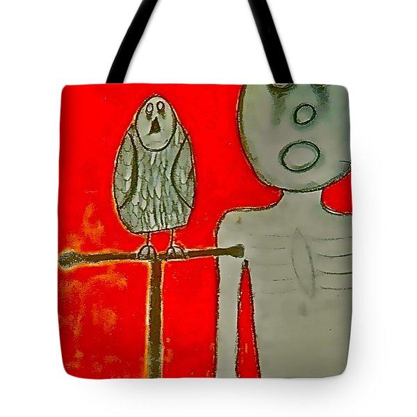 The Hollow Men 88 - Bird Tote Bag