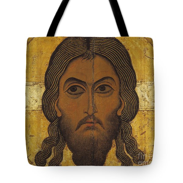 The Holy Face Tote Bag by Novgorod School