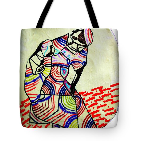 The Holy Family Tote Bag by Gloria Ssali