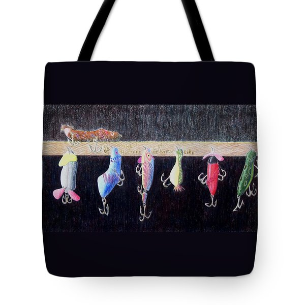 The Hookers Of Belview Lake Tote Bag
