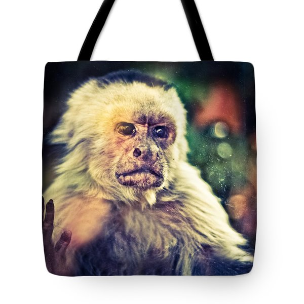 Tote Bag featuring the photograph The Hopeless Ape by Stwayne Keubrick